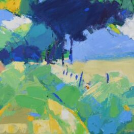 Hillside Track by Marion Thomson