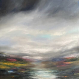 Misty Ochil Walk by Gill Knight