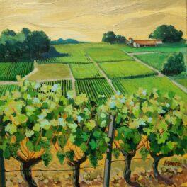 Ripe Harvest, Yellow Sky by Carol Moore