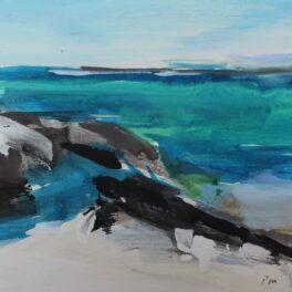 Rocky Shore by Pete Morrison