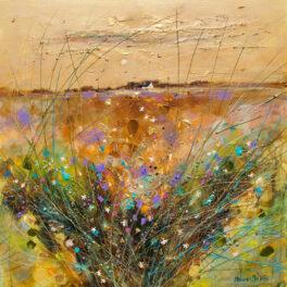 Soft Harvest Sunset by Deborah Phillips