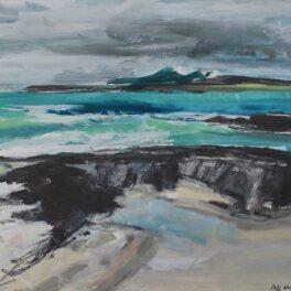 Storm Approaching, Sanna by Pete Morrison