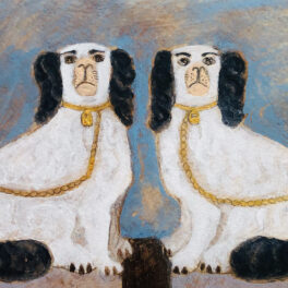 Staffordshire Dogs by Tracey Johnston