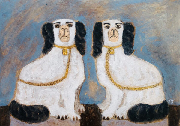 Staffordshire Dogs, Tracey Johnston, Greengallery