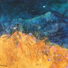 Turquoise & Gold by Deborah Phillips
