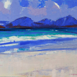 Wild Day, Luskentyre by Marion Thomson