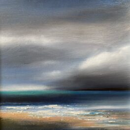 Wee Storm III by Gill Knight
