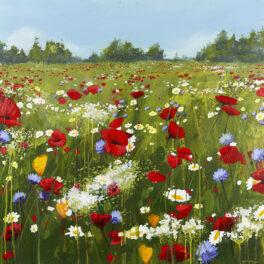 Flower Meadow by Garry Harper