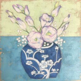 Lisianthus by Kelly-Anne Cairns