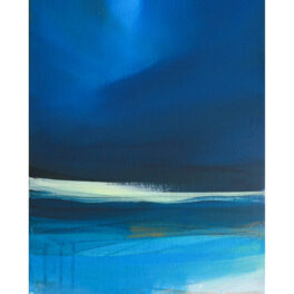 Nightfall on the Bay by Victoria Wylie