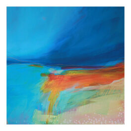 Teal Water (Balnahard Bay) by Victoria Wylie