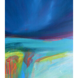 Teal Waters II by Victoria Wylie