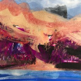Fiskavaig from Oronsay by Caroline Bailey