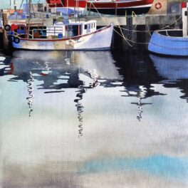 Stromness Harbour I by Babs Pease