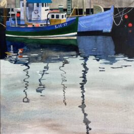 Stromness Harbour II by Babs Pease