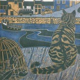 Archie, the Harbour Cat by Babs Pease