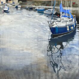 Dysart Harbour I by Babs Pease