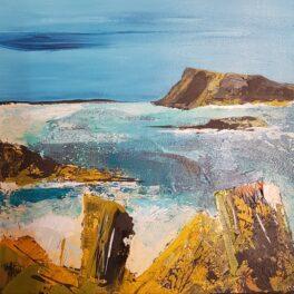 Broken Fences Argyll by Morag Lloyds