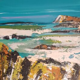 Changing Colours of the Sea by Morag Lloyds