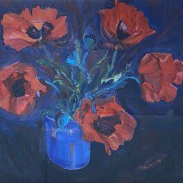 Poppies by Margaret Ballantyne