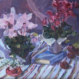 Cyclamen by Margaret Ballantyne