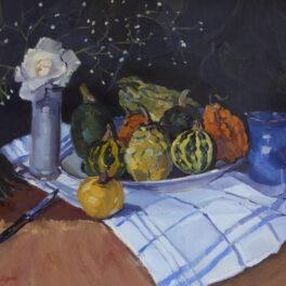 Still Life of Vegetables by Margaret Ballantyne