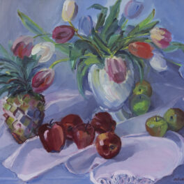Still Life with Fruit by Margaret Ballantyne