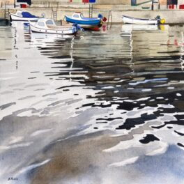Dysart Harbour II by Babs Pease