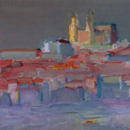 Cefalù at Dusk by Ronald F Smith RSW RGI
