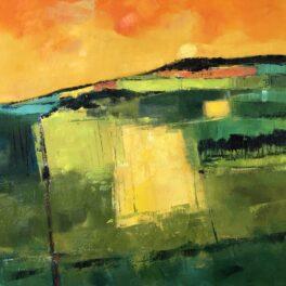 Sundown Behind the Hill by Tom Sutton-Smith