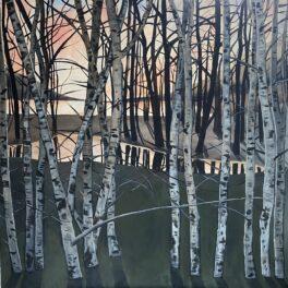 Sunset Loch by Rosie Playfair